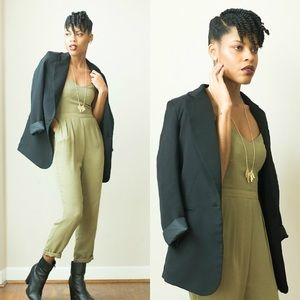 Olive Green Jumpsuit - Size 6